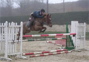 Obstacle CSO Oxer montant