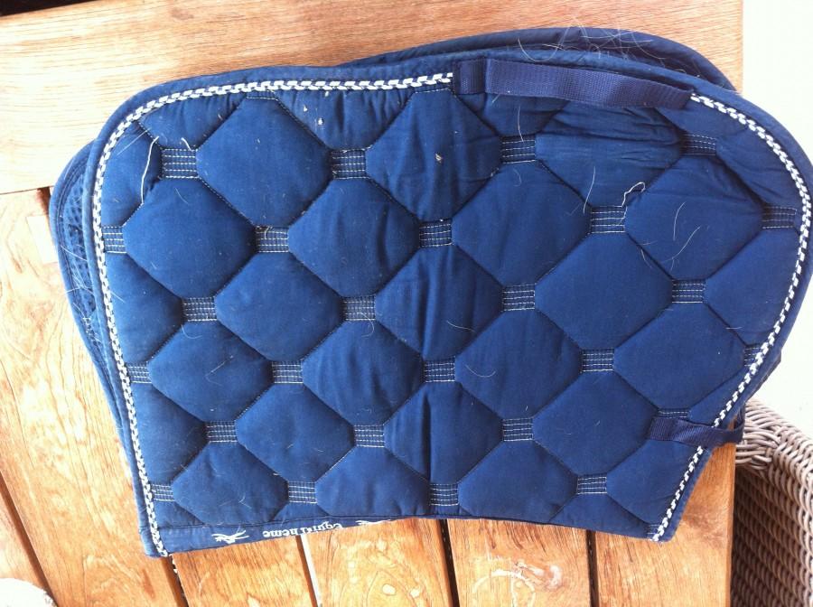 tapis bleu marine equitheme taille cobcheval - Tapis Bleu Marine