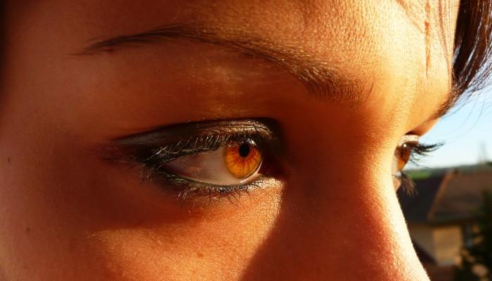 Complex par ces yeux - Yeux couleur noisette ...