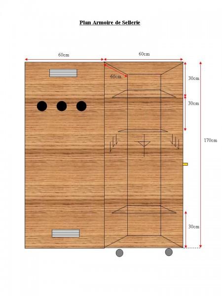 armoire de sellerie. Black Bedroom Furniture Sets. Home Design Ideas