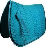 O Trouver Tapis De Selle Bleu Turquoise