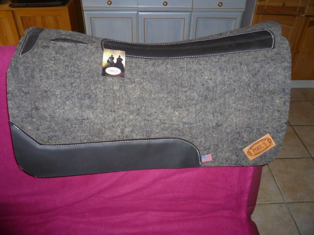 Conseil Tapis Pad Selle Western