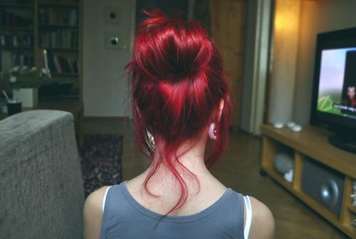 cliquez pour voir limage - Shampoing Colorant Rouge