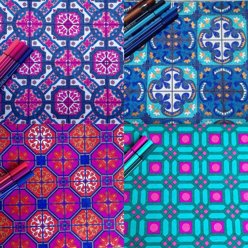 Mandala coloriage anti stress - Dessin mosaique a imprimer ...