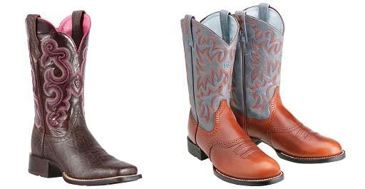 bottes western pas cher femme