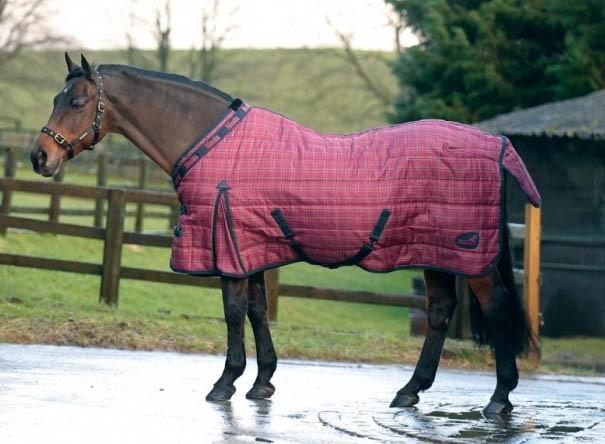 Couverture cheval d'écurie
