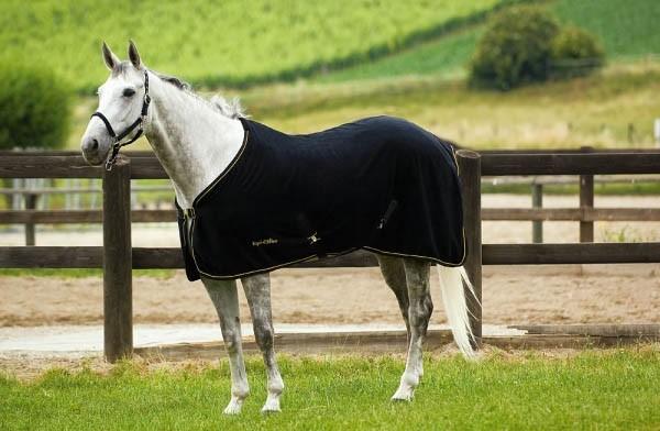 Les couvertures pour chevaux for Enlever l electricite statique