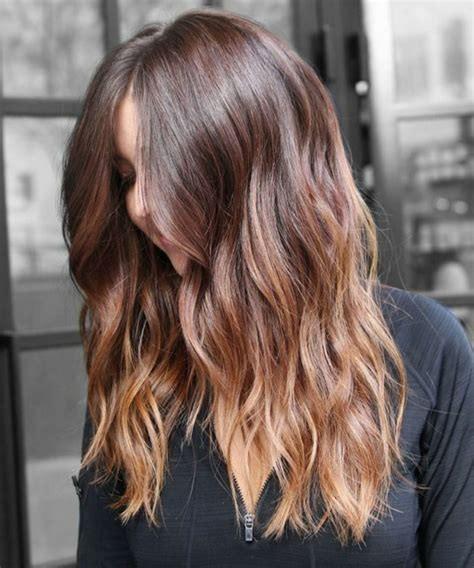 Balayage sur cheveux châtains, conseils